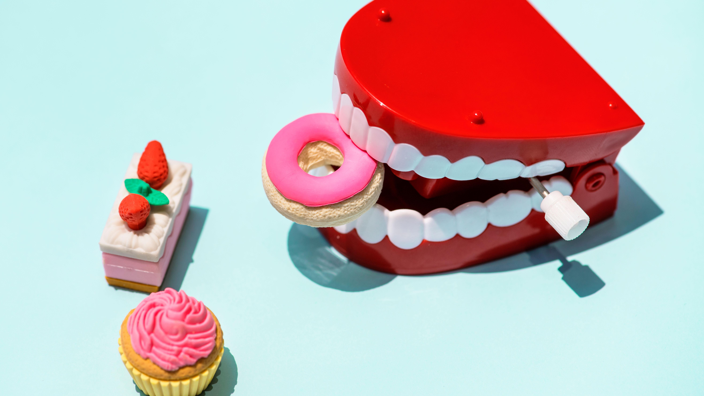 Der Zucker und die Zähne